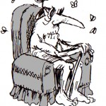 illo - tired old fan
